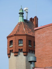Watchtower of old fire station (Riga, Latvia)