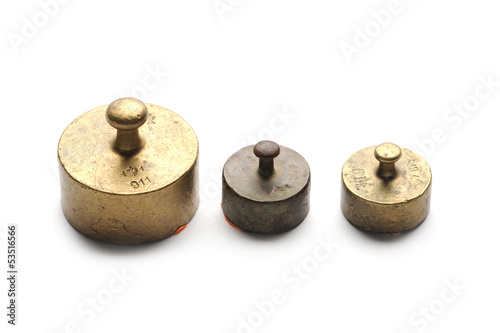 Three little weights