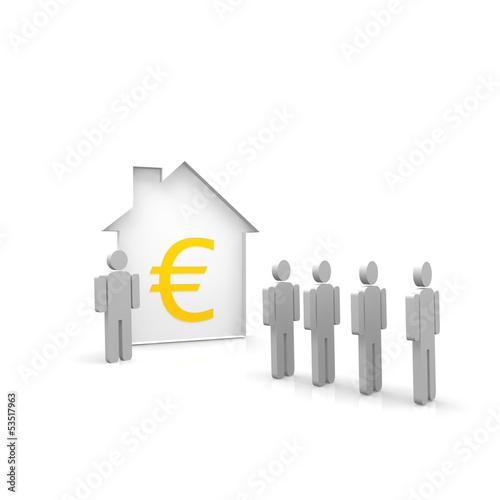 euro, vermieten, mieter, makler,