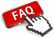 Cursor pressing FAQ button