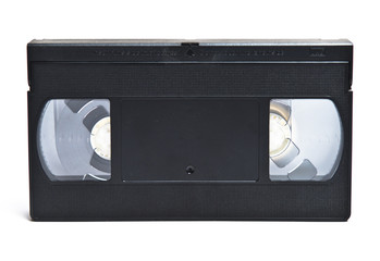 VHS isolated on white