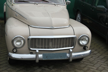 Vintage Swedish car