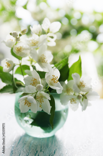 Fragrant jasmine bouquet