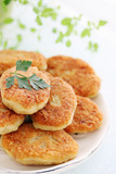 cutlets with parsley