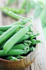 peas in bowl