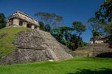Palenque : Temple du comte ciel bleu 4