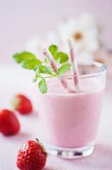 fruchtiger erdbeershake