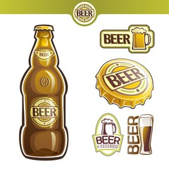 The image on the topic of beer
