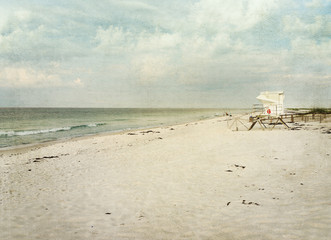 Early Morning on Beautiful Gulf of Mexico Beach
