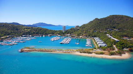 Hamilton Island in the Whitsundays
