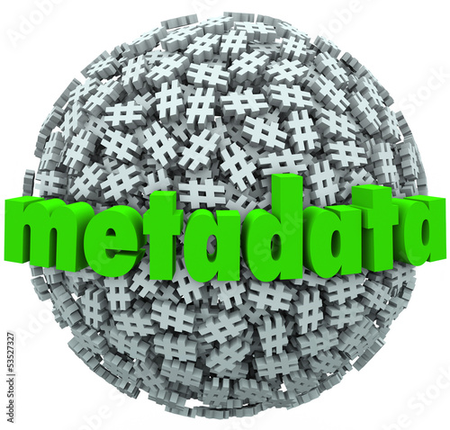 Meta Data Number Pound Hash Tag Sphere Metadata Hashtags
