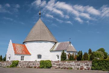 Hasle Nykirke auf Bornholm