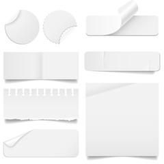 Torn and Folded Paper Set