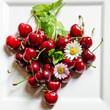 Kreative Sommer-Küche: Herz aus Kirschen