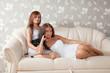 Relaxed women