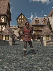 Old Medieval Town Guard