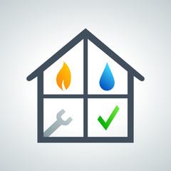 logo plombier, chauffagiste, électricien 2013_06 - 08f