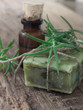 rosemary soap and essential oil