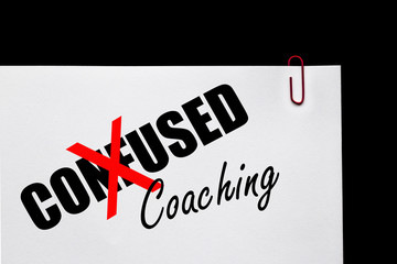 Business Success - Confused or Coaching?