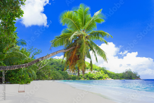 Fototapeten,seychelles,strand,meer,laguna beach
