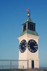 Petrovaradin clock tower