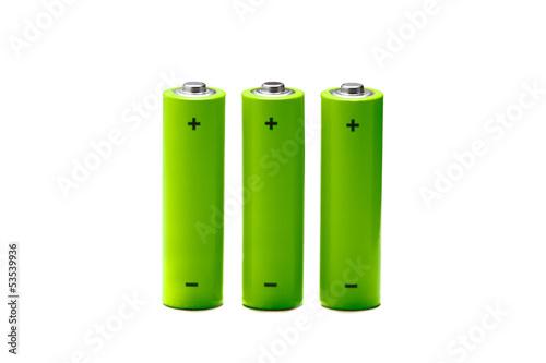 3 pilhas AA verdes