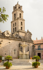 San Francisco Church and Square in Old Havana