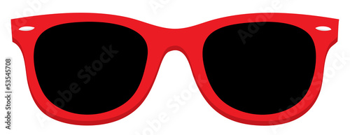 Red Sunglass