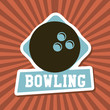 bowling label