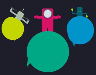 astronauta futurista