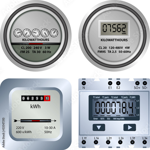 electric meter - 53547310
