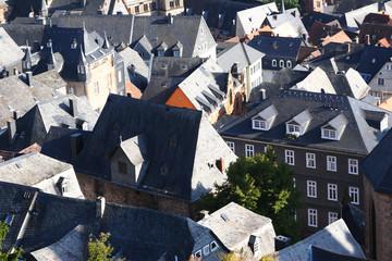 Rooftops in Marburg, Germany