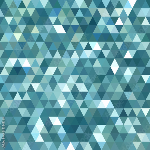 In de dag ZigZag Abstract Triangle Background Pattern