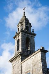 Romanesque church from Galicia, Spain