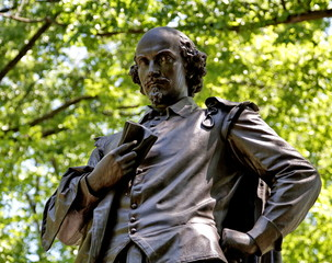 William Shakespeare, Central Park, New York