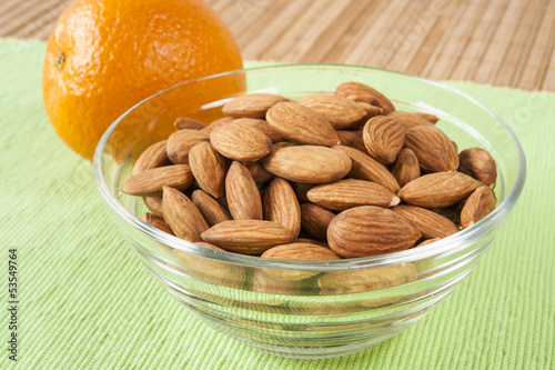Almonds and Orange Snack