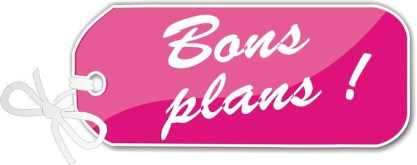étiquette bons plans