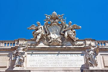 Roma - Fontana di Trevi, particolare