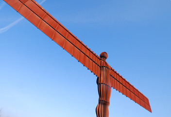 Angel of the North view