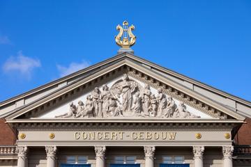 Amsterdam Concertgebouw Architectural Details