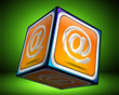 E-Mail Button 3d