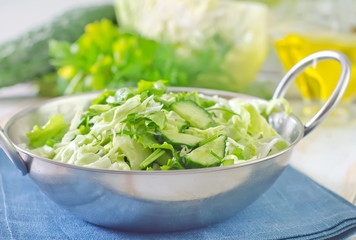salad from cabbage