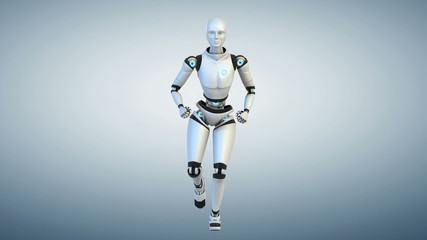 Running cyborg.Cycle.Front