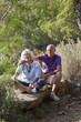 happy healthy romantic pension on vacation