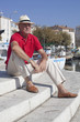 cool attitude with elegance at 70 years old