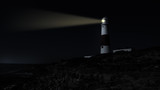 Lighthouse by night - 53553579