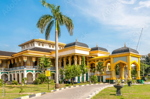Foto op Canvas Indonesië Sultan's Palace in Medan