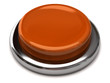 Blank orange button isolated on white background