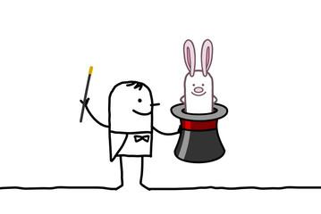 magician & rabbit