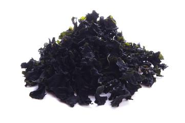 hijiki. dry brown alga